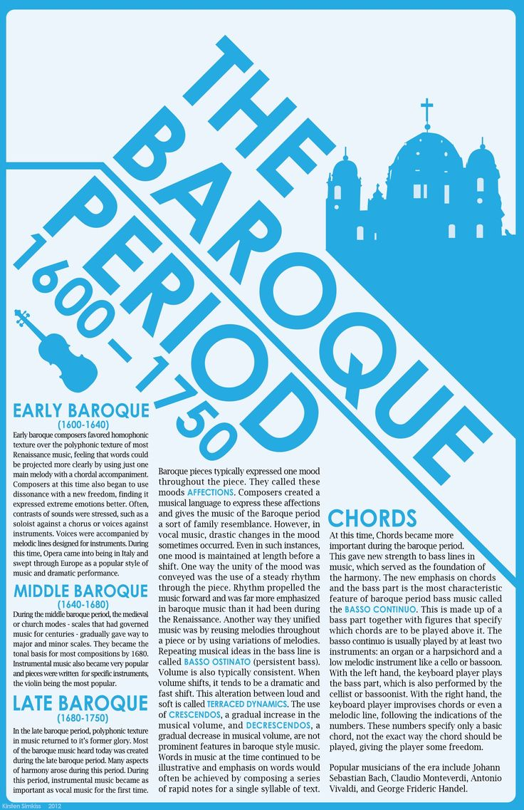 NANCY. This lady you pinned this from has a TON of useful History boards. Music History - The Baroque Period Infographic