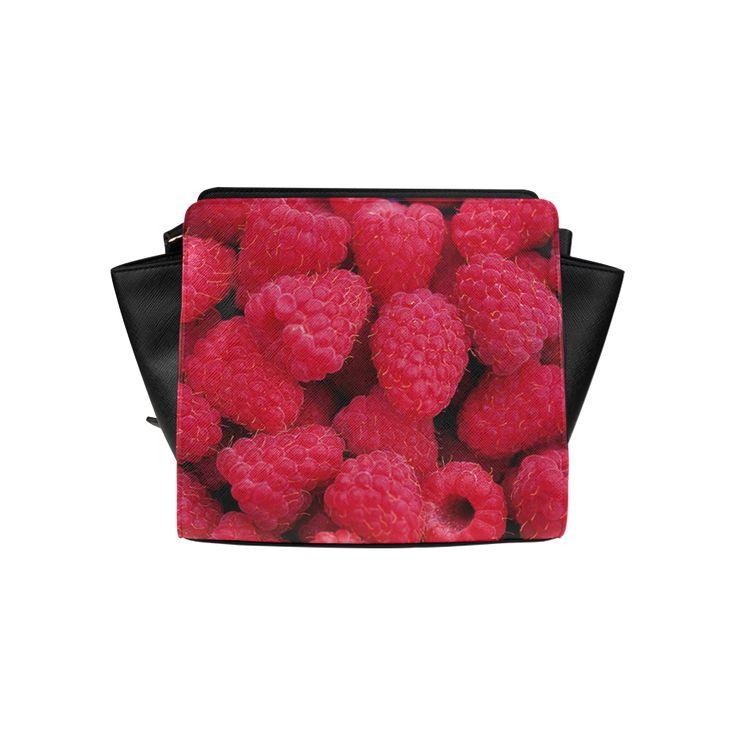 Raspberries Satchel Bag. FREE Shipping. #artsadd #bags #fruits