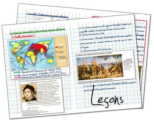 Trace écrite  Les Grandes découvertes et les premiers empires coloniaux