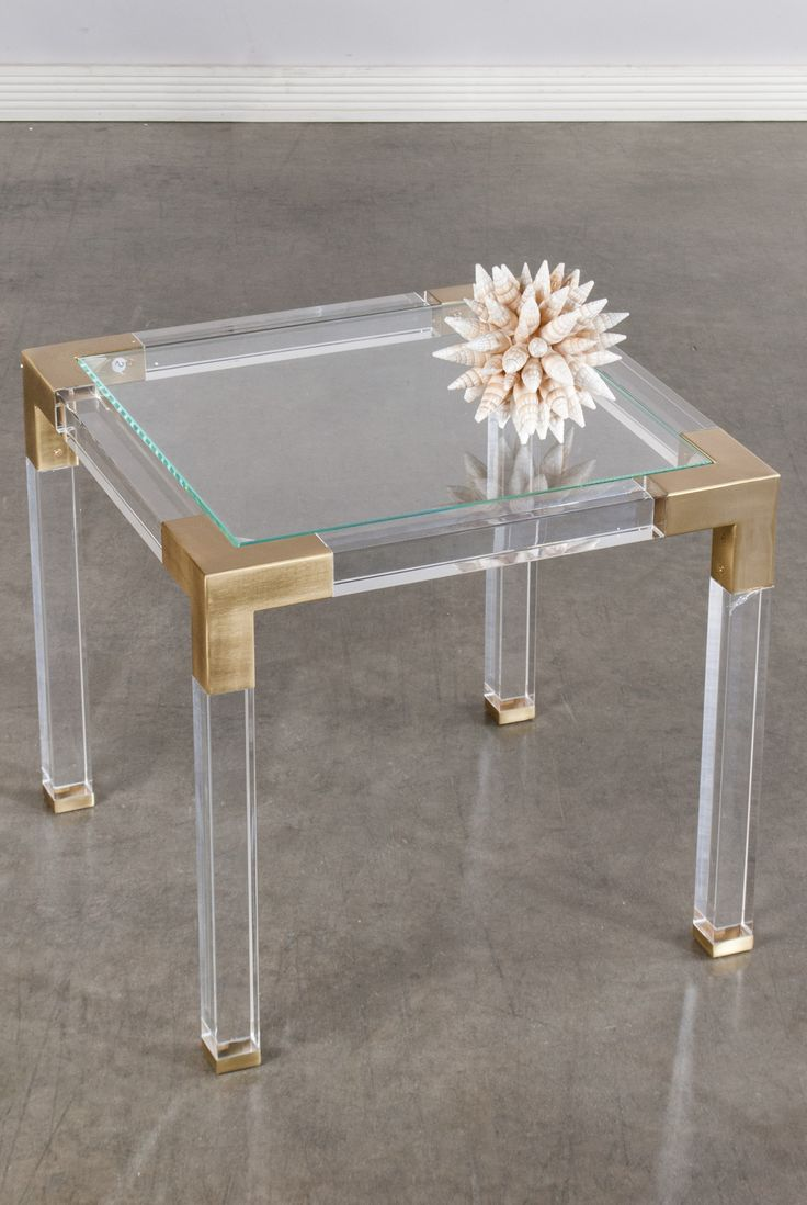 39432-Lucia Acrylic Side Table