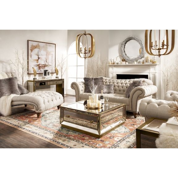 Brittney Sofa And Chaise Set Living Room Decor Tips City Living
