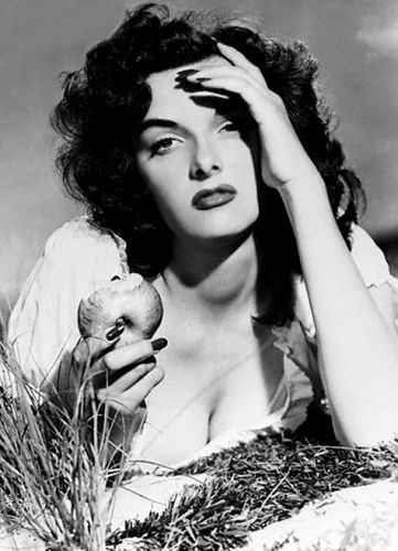 I wish I could be as cool as Jane Russell.