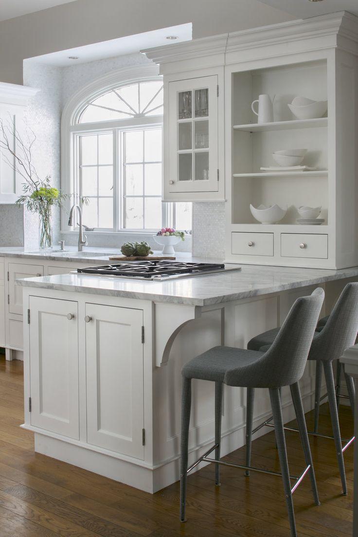 Fairfield Kitchen Peninsula - Keri McKay Interiors