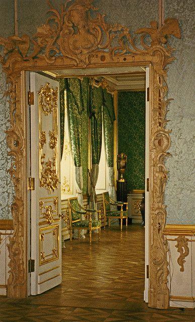 Portal Door Peterhof Palace, Saint Petersburg,Russia
