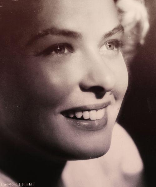 Ingrid Bergman She was so extraordinarily beautiful. Luminescent!