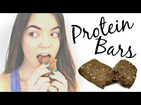 ▶ Raw & Organic Protein Bar Recipe! - YouTube