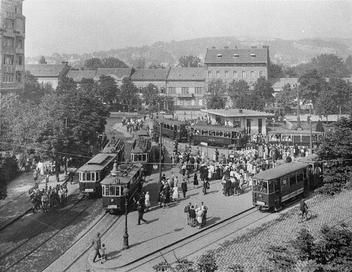 Budapest, a volt Moszkva tér 1929. - Széll Kálmán tér