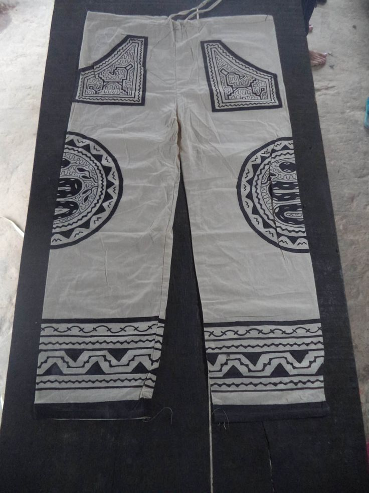 White Shipibo Mens Ceremonial Trpusers,Shipibo Trousers, Shaman Trousers, Burning Man/Shamanic/Steam punk/Tribal/woodland/psycadellic I3 by Shakruna on Etsy