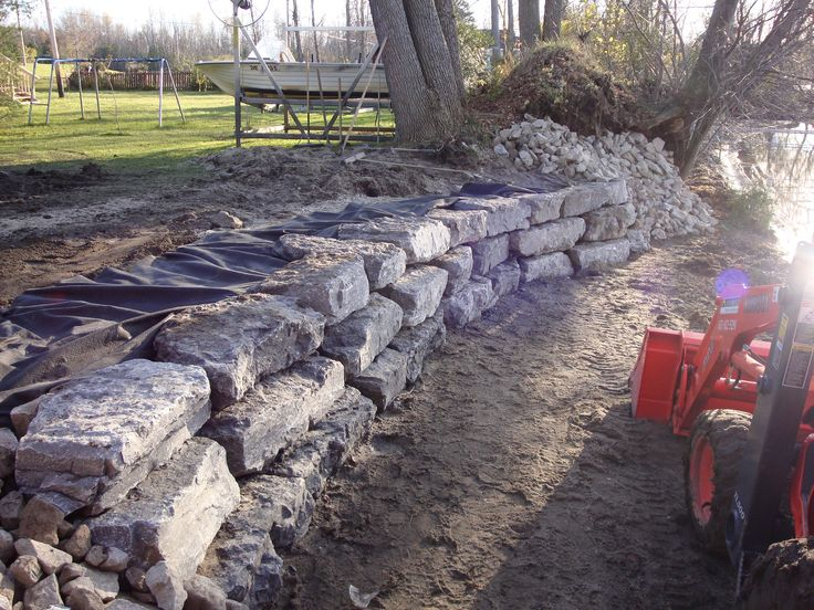 Waterfront Retaining Wall Design Google Search Lake