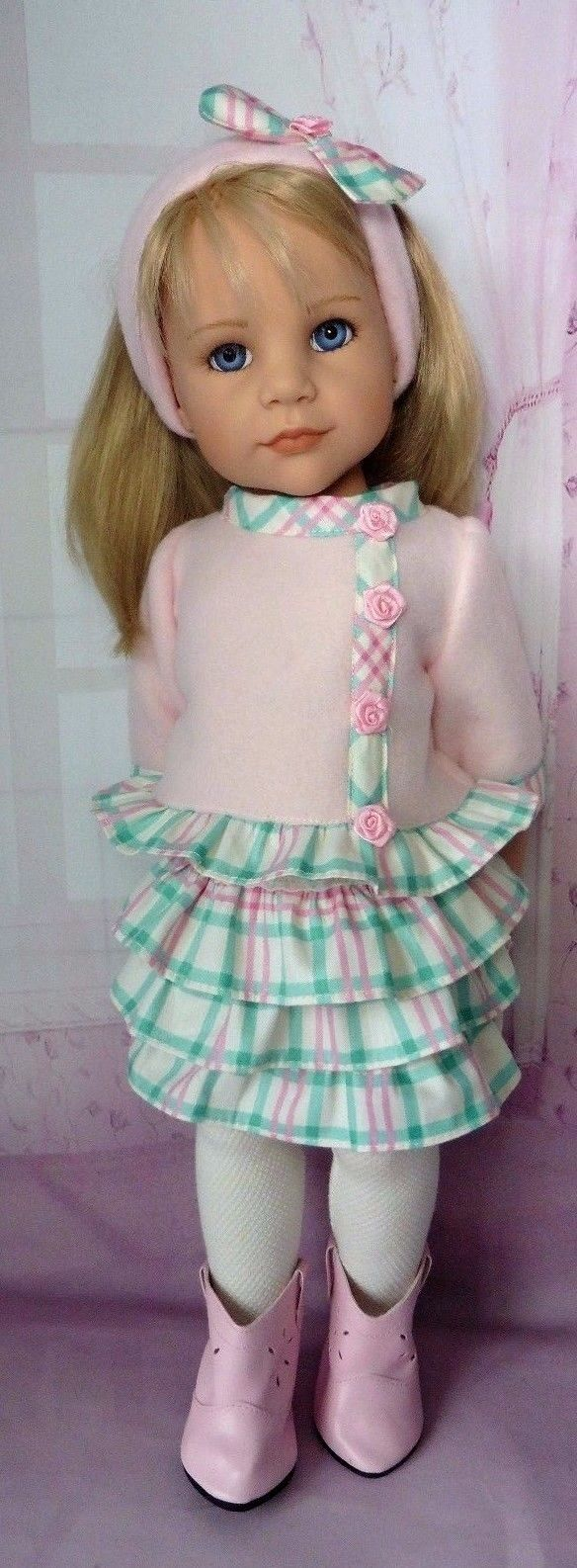 PIXIES HAND MADE:4 PIECE OUTFIT : COMPATIBLE WITH GOTZ HANNAH 18 INS DOLL | eBay