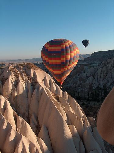 I've done this. Cappadocia, Turkey.