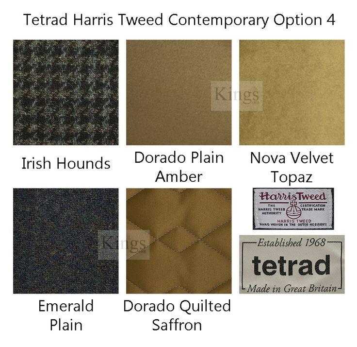 #Tetrad Option 4 www.kingsinteriors.co.uk/brands/tetrad-harris-tweed