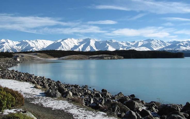 Lake Pukaki and the Southern Alps, New Zealand