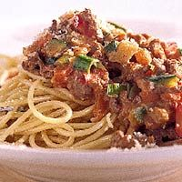 Recept - Spaghetti met romige pestosaus - Allerhande