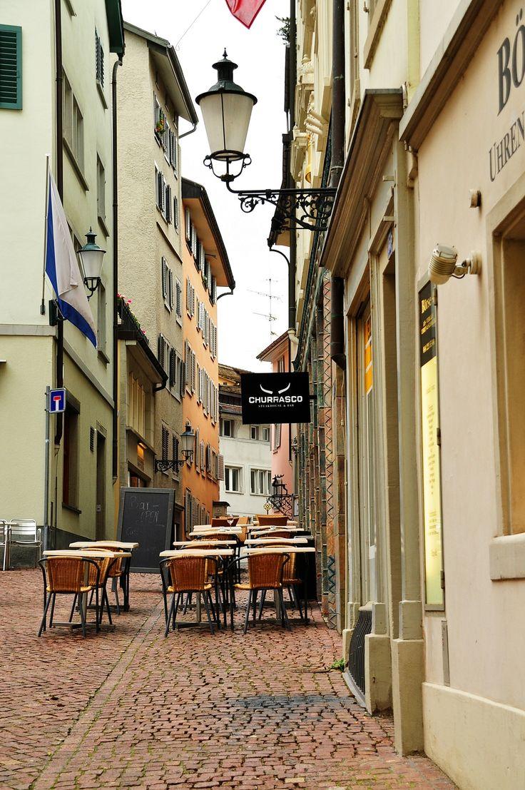 Glockengasse Street, Old Town, Zurich, Switzerland