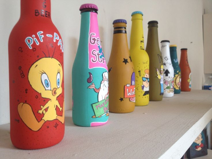 Funny bottle - Toons by MisterPresident - LeClouTordu