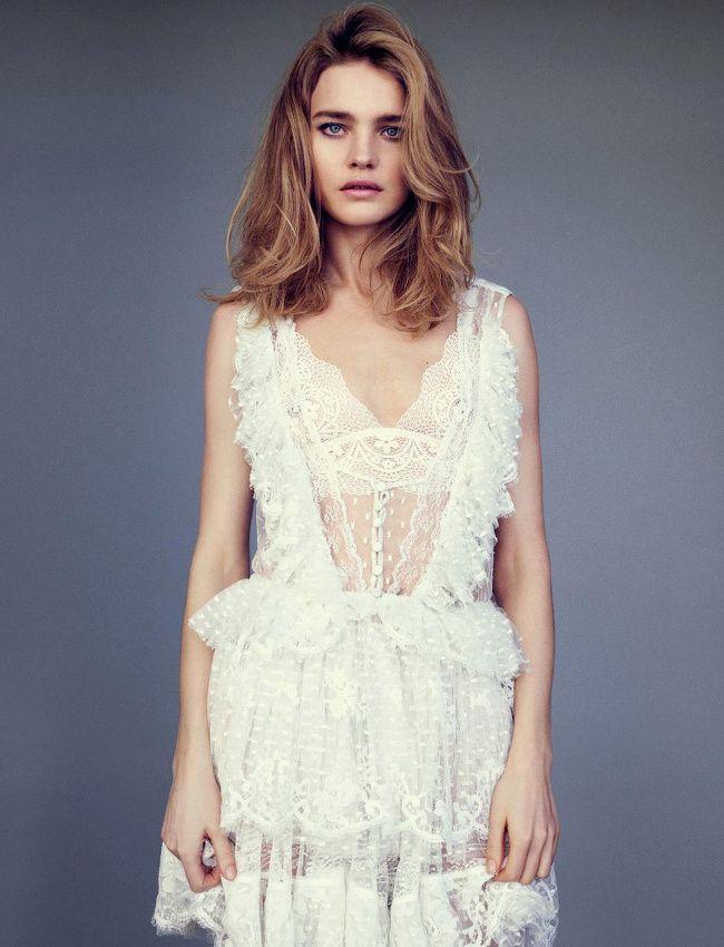 La parfaite petite robe blanche selon Givenchy (photo Figaro Madame)