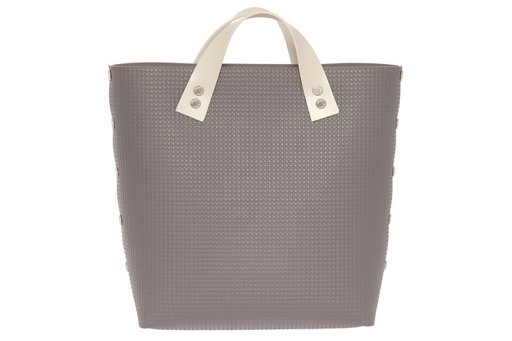 Bernarda Handbag TWO SHORT Grey