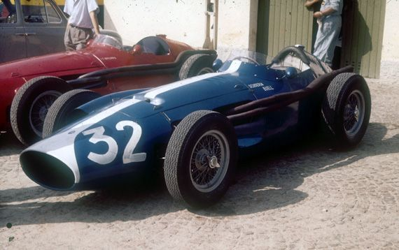 1958 GP Włoch (Masten Gregory) Maserati 250F Maserati