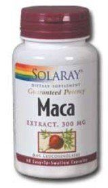 Solaray - Maca Extract, 300mg, 60 capsules ** Click image to review more details.  This link participates in Amazon Service LLC Associates Program, a program designed to let participant earn advertising fees by advertising and linking to Amazon.com.