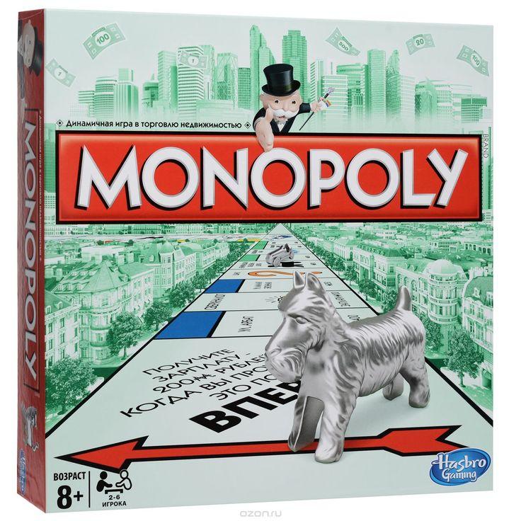 Купить Настольная игра Монополия. Классическая в интернет-магазине OZON.ru