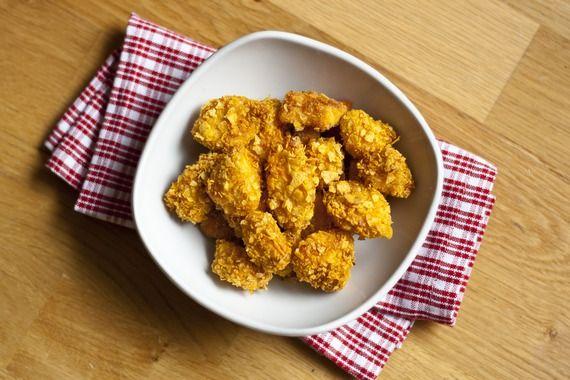 Crispy Hähnchen Nuggets - Nur 4 Zutaten und kein aufwendiges panieren und braten...