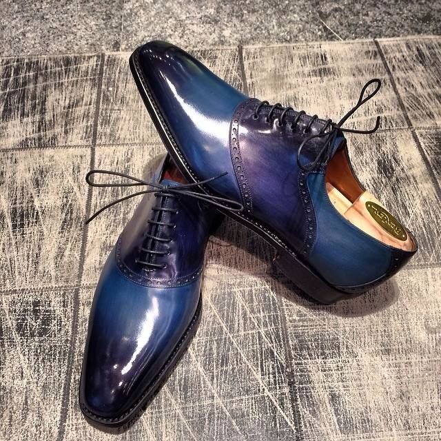 JM Le Gazel – A Unique and Elegant Patina - Petrol Blue .... Stunning