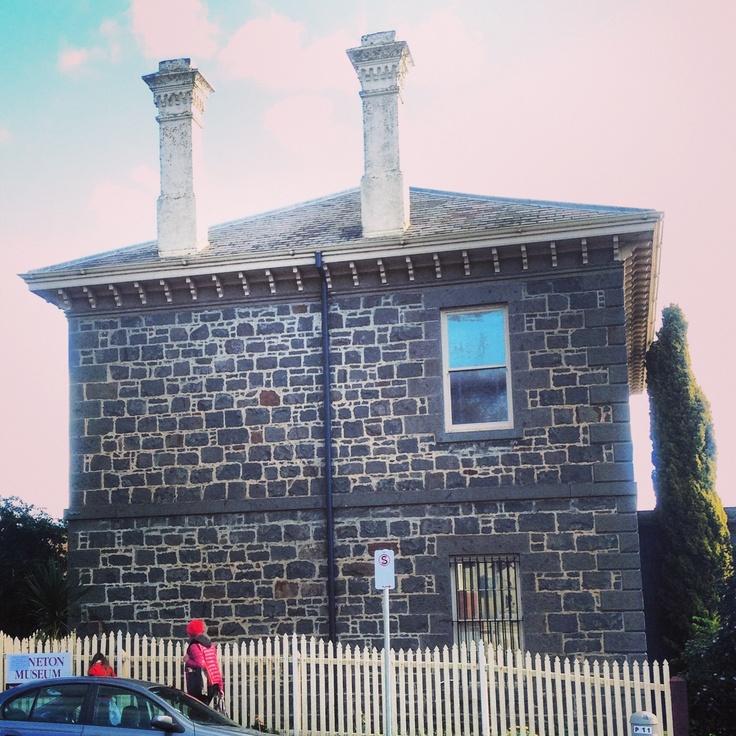 Beautiful old bluestone building in Kyneton