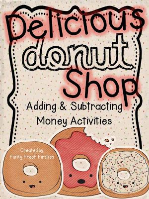 Adding and Subtracting Money Activities... perfect for 2nd and 3rd grade...  1 and 2 step word problems... and a cool bulletin board idea!