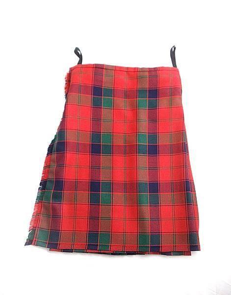 Pure Wool Kilt - Robertson Tartan - Made in Scotland (Ex-Hire) – Scotland's Bothy