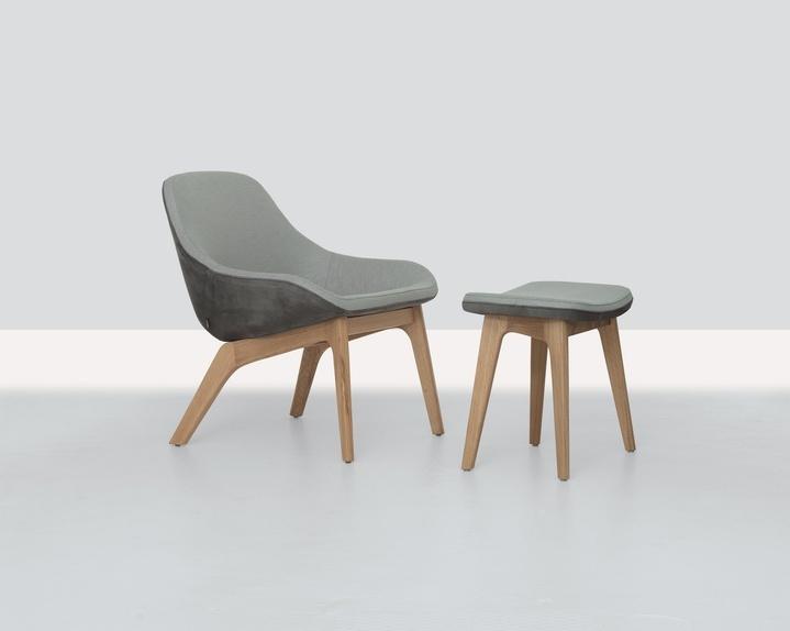 Morph Lounge Chair by Zeitraum — ECC Lighting & Furniture