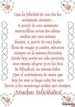 imagenes con frases para recién casados | Para San Valentín