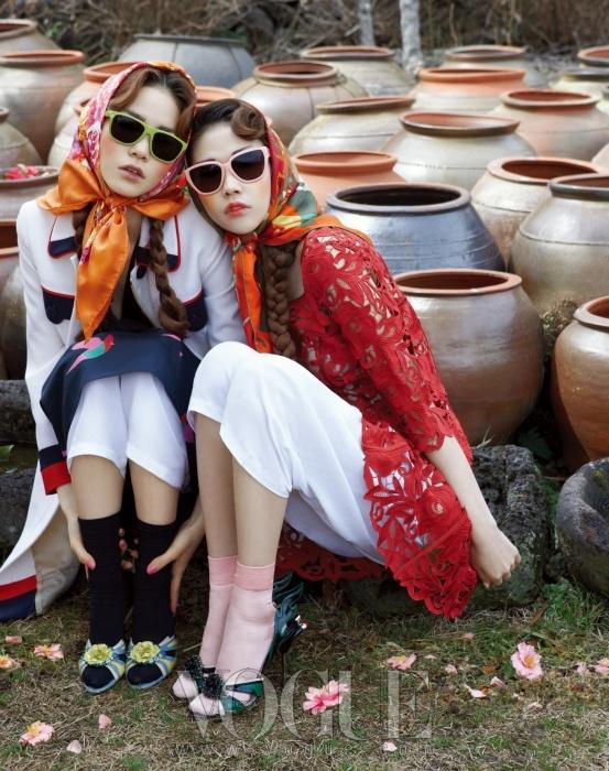 Korean Vogue March 2012