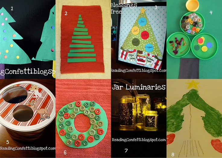 Reading Confetti: 24 Book Inspired Christmas Activities