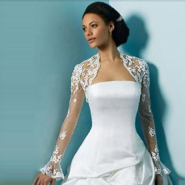 Bolero mit Spitze für Hochzeitskleid  Gloria Agostina  Pinterest ...