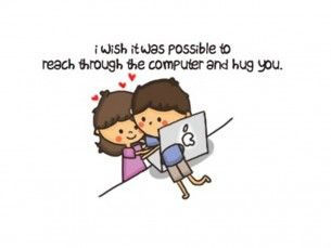 Long distance hug - look @David Cady - they even used the