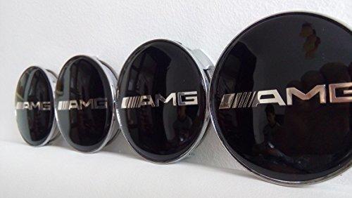 Oferta: 17.65€. Comprar Ofertas de Set de 4Mercedes-Benz AMG Negro-Llantas de aleación Centro Tapacubos (tamaño: 75mm) barato. ¡Mira las ofertas!