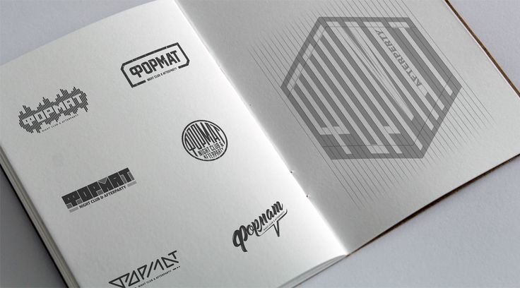 Format logo on Behance