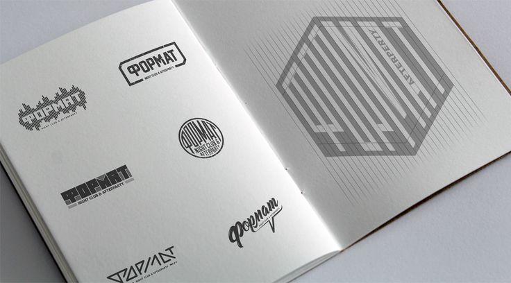 Format logo on Behance