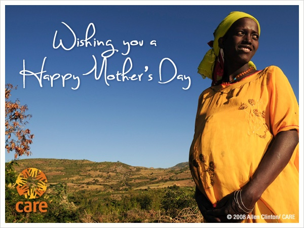 Send your mom or another special woman in your life a beautiful e-card when you donate to CARE in her honor.