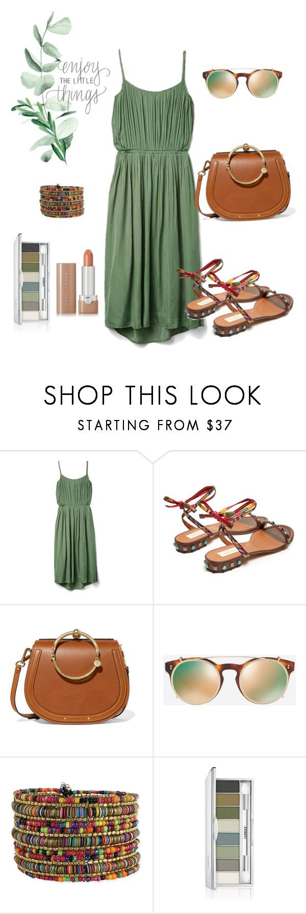 """Untitled #7"" by alya-volov on Polyvore featuring Gap, Valentino, Chloé, Clinique and Marc Jacobs"