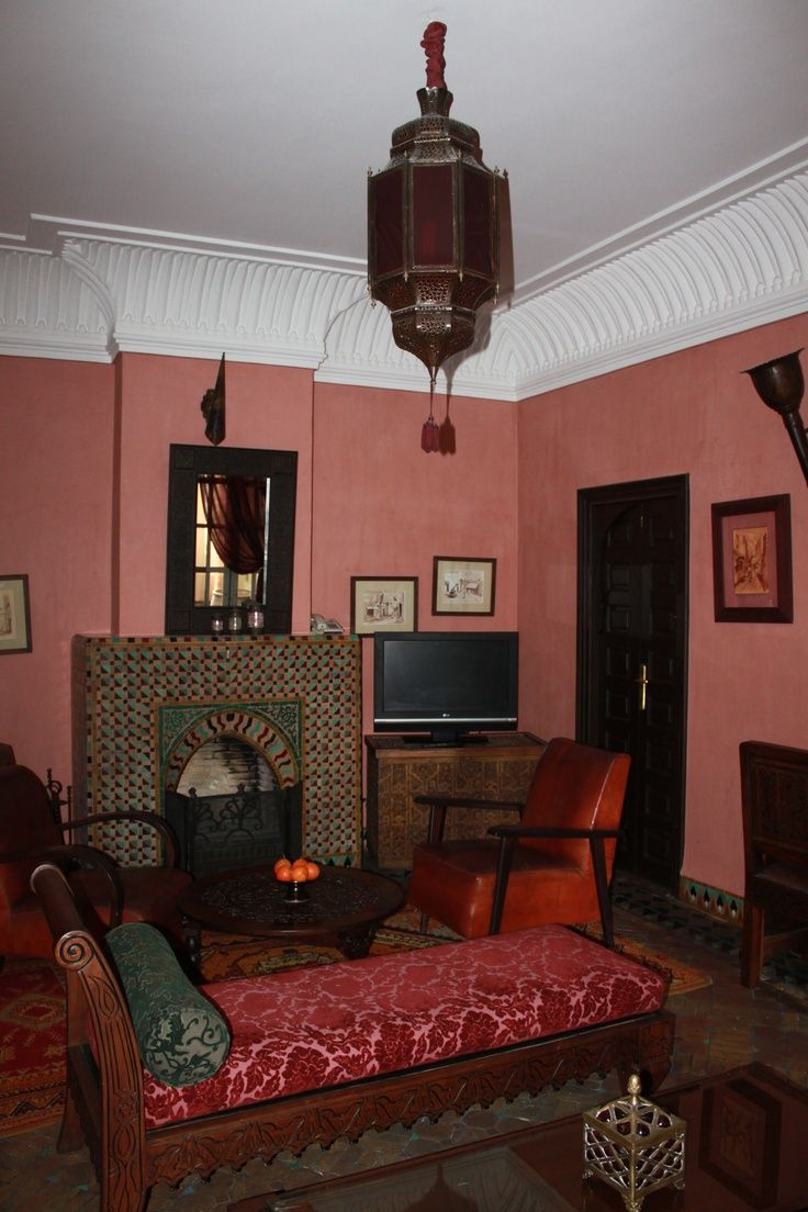Pink Moroccan Living Room Part 35