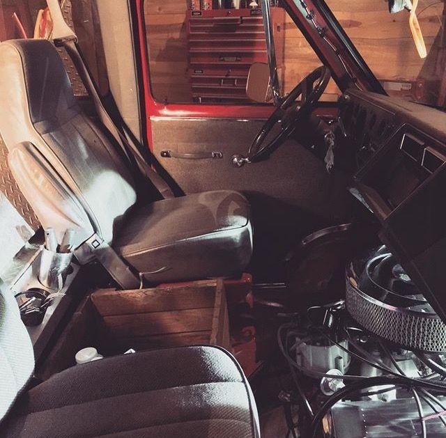 GMC Van interior
