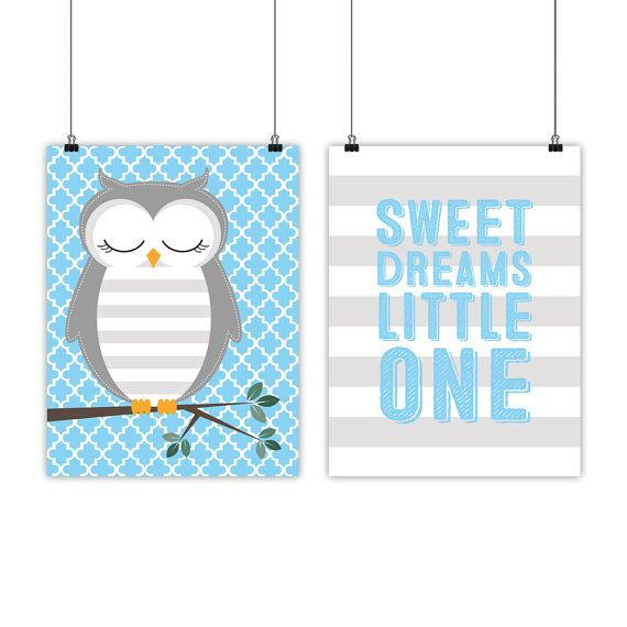 Nursery art print owl nursery quote owl by WillowLanePrints