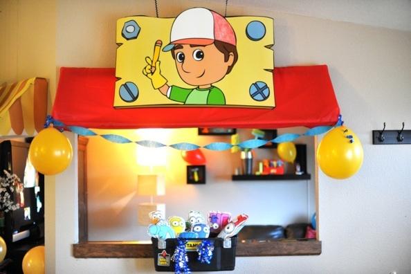 Handy Manny birthday celebration