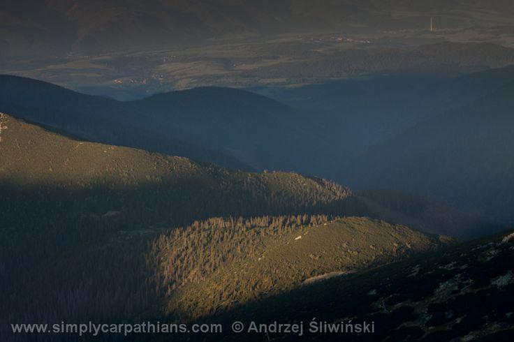 Light and shadows in Low Tatras #Slovakia www.simplycarpathians.com