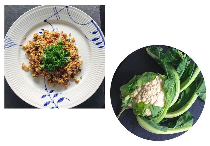 Trenger du et lavkarbo-alternativ til vanlig ris? Prøv blomkålris!