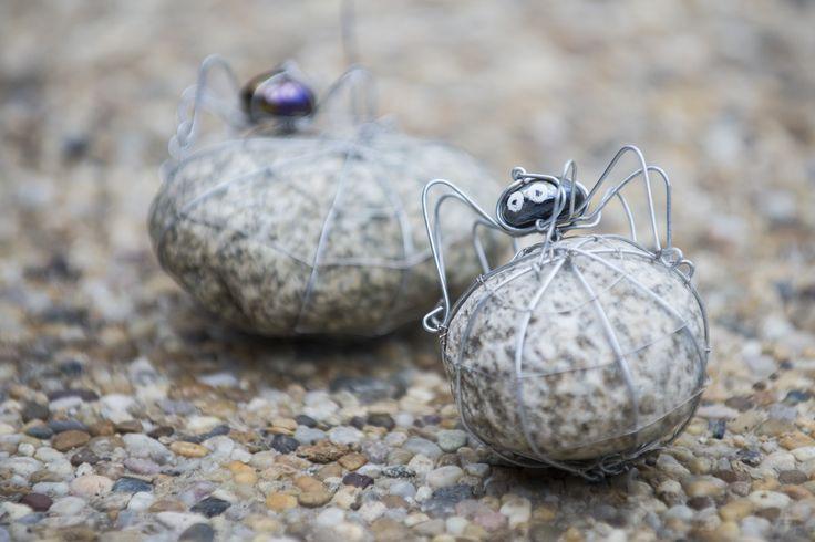 Wired spiders / drôtené pavúky