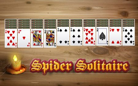 Spider Solitaire - My 12-year old taught me :o)
