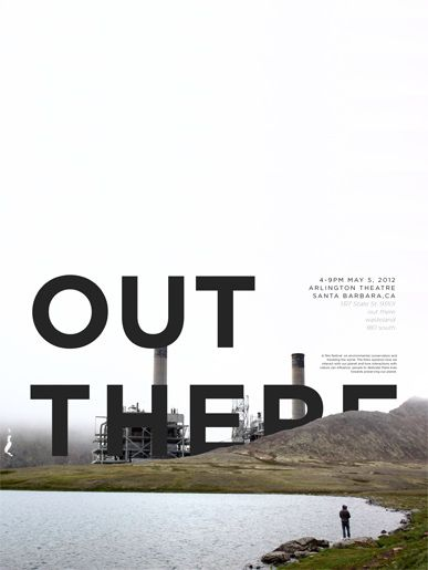 Film Festival Poster Series - Wasteland, 180 south, out there